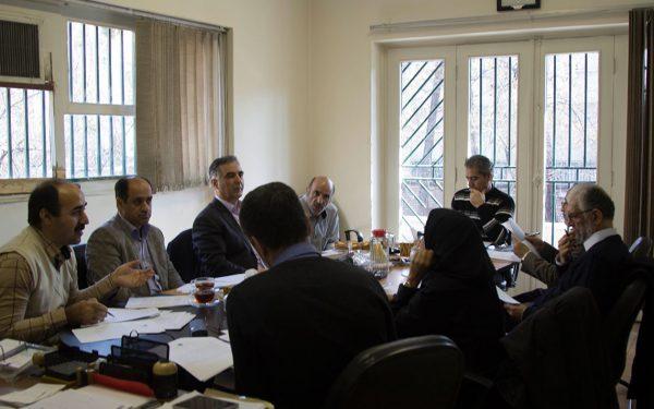 تشکیل جلسه شورای مؤسسه باستان شناسی دانشگاه تهران