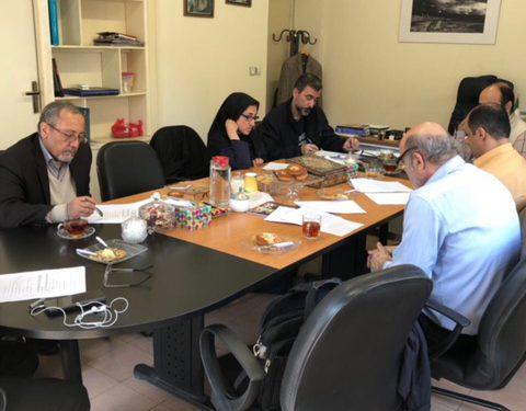 تشکیل جلسه شورای موسسه باستان شناسی دانشگاه تهران