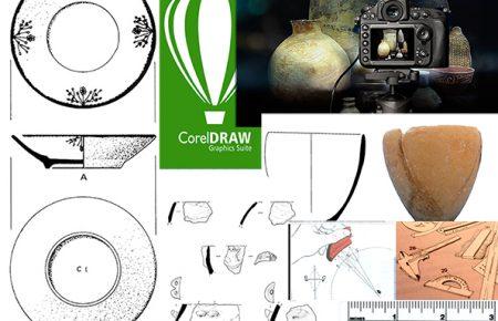 کارگاه طراحی ، ترمیم رایانه ای و عکاسی سفال در باستان شناسی در موسسه باستان شناسی دانشگاه تهران